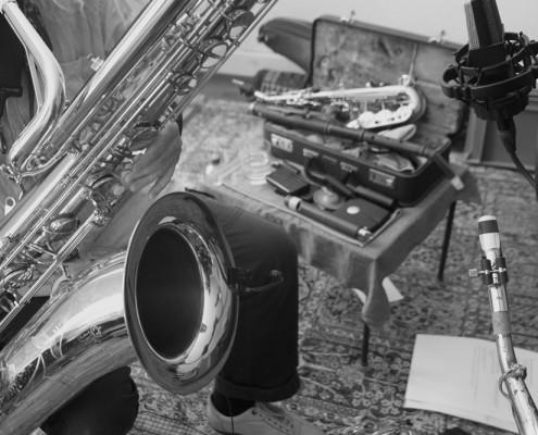 Markus Stauss - Jazz Saxophonist aus Basel