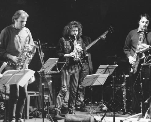 JoPo, MS & Stephan Hugye, Xopf Festival Basel, 1993