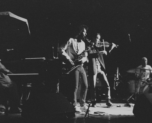Anthony Coleman, MS, Hahn Rowe & Han Bennink: Projekt Glasba, Belluard Festival Fribourg, 1993